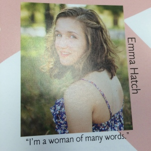 Emma's Senior Yearbook Picture