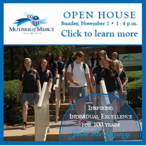 The Open House pop-up on Mercy's website