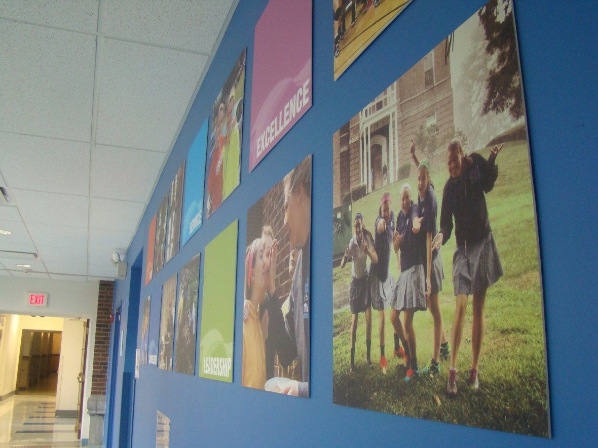 More posters hung in the tech wing. Photo courtesy Lindsay Eichhold