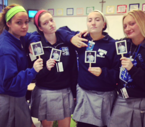 Seniors give the juniors a run for their money with their Flat Francis