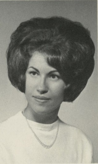 Pictured above is Toni Long's senior photo that can be seen in the class composites on the first floor.