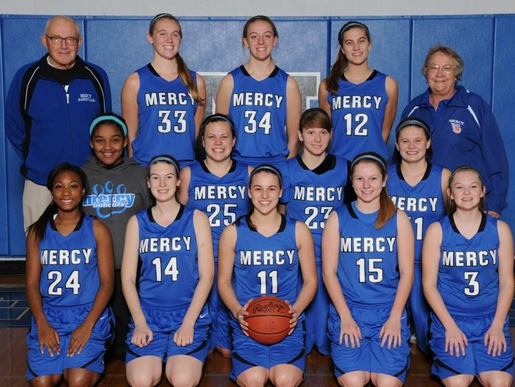 This is the 2014-2015 Mother of Mercy basketball.  This picture includes many returning players.