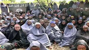The group of girls who were kidnapped from their school by the Boko Haram