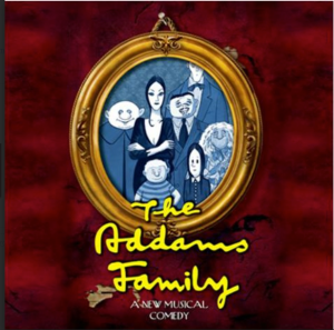 The Addams Family portrait