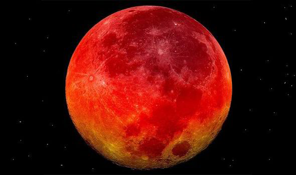Four blood moons dates in Melbourne