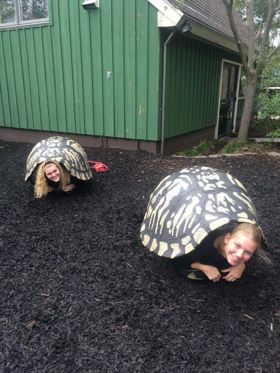 "Casey and Sara '15 have finally realized that ""slow and steady wins the race"""