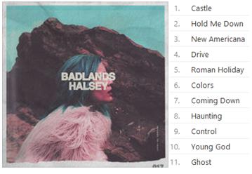 Halsey's album,