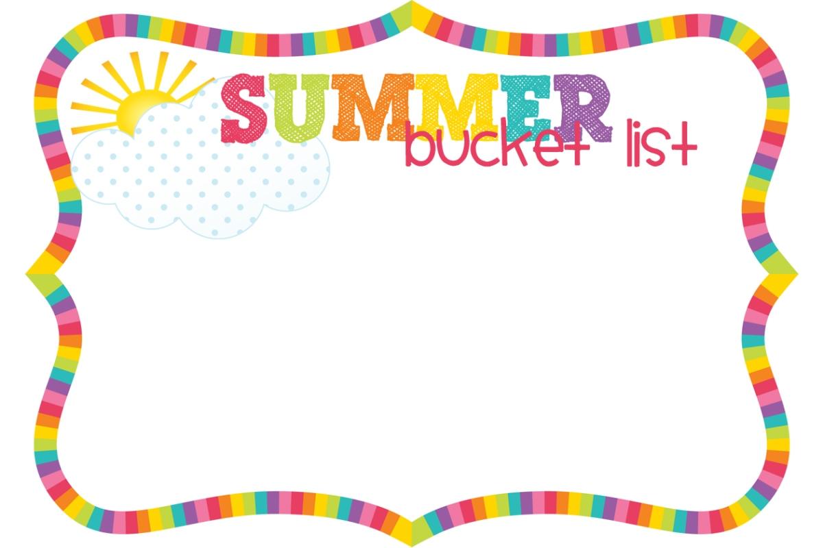 2016 Summer Bucket List – Mercy Etcetera