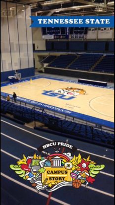 TSU's basketball court. Photo credits to me